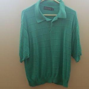 Paul Fredrick Polo Golf Shirt Xl